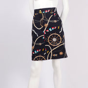 Vintage novelty sailing skirt by Mondi