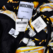 New with tags Moschino Couture Dress with Spilled Perfume