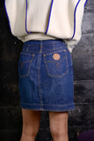 1990's Moschino Denim Mini Skirt 4/6