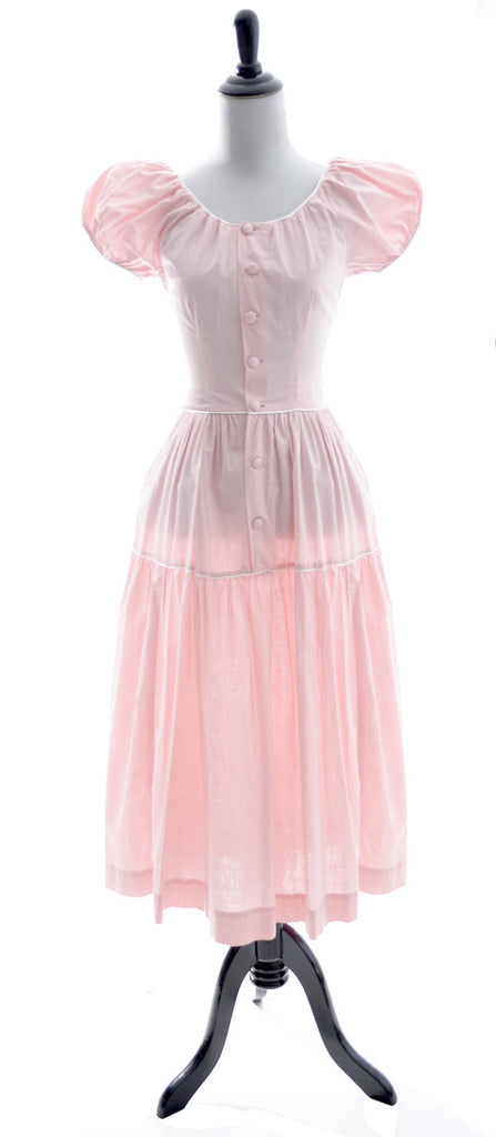 Nelly Don vintage dress pink