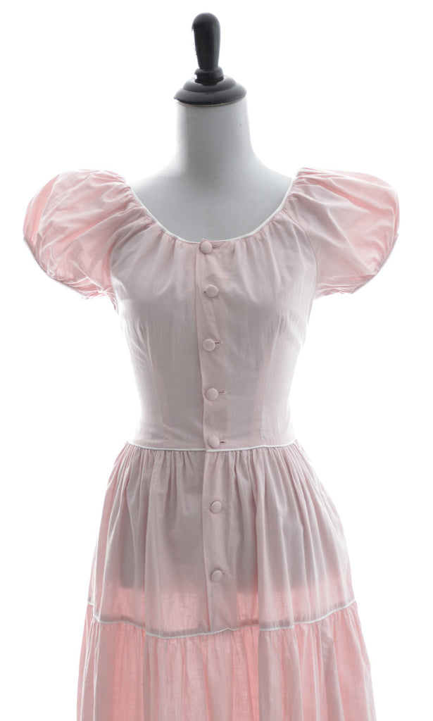 Pink vintage dress Nelly Don