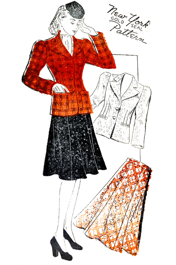 1940s New York Pattern 1358