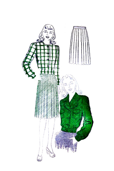 New York 944 vintage sewing pattern