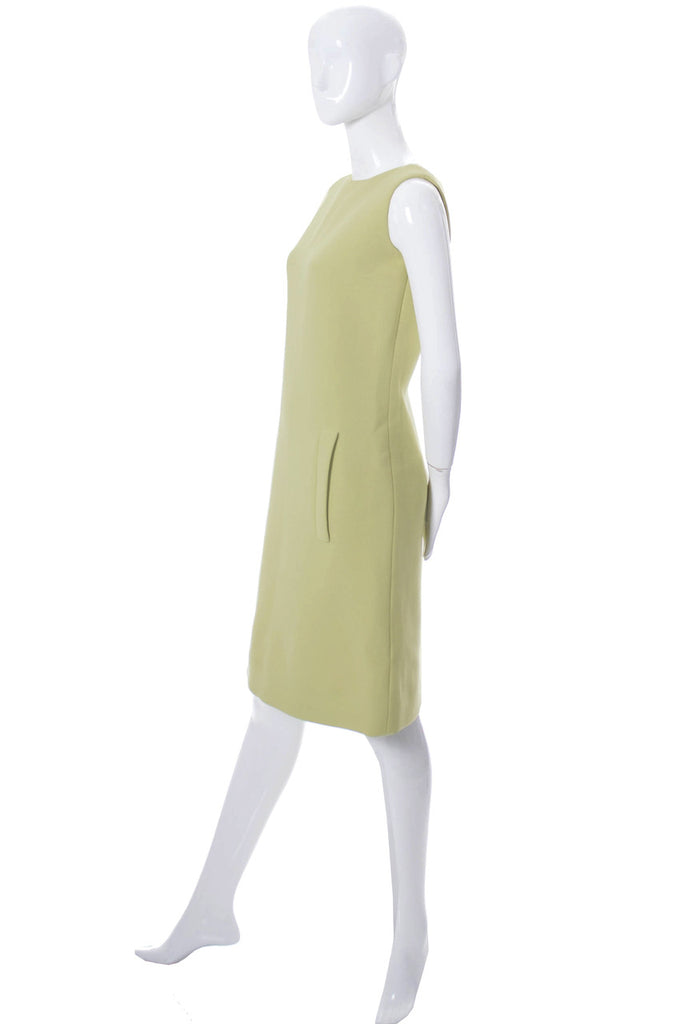 Vintage Norman Norell designer dress from the 1960s