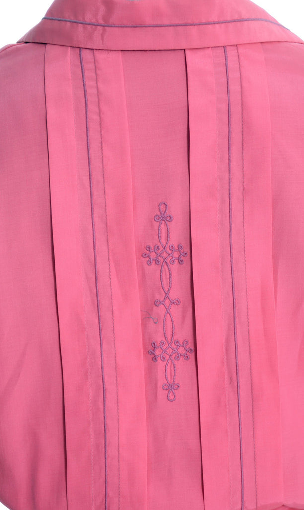 Strawberry pink vintage dress 1960's