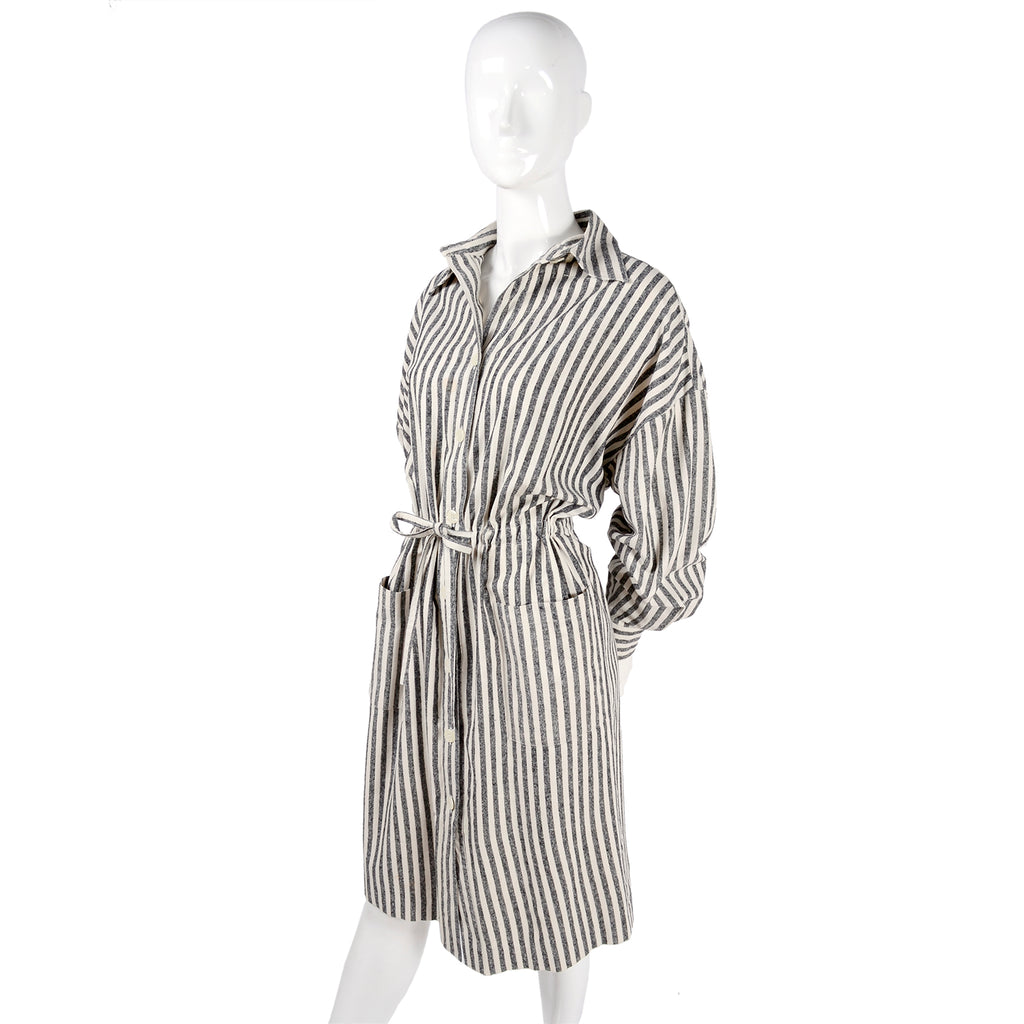 Vintage Oleg Cassini Shirt Dress