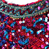 1980s beaded and sequin detail