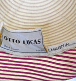 Made in England Otto Lucas 60s vintage hat