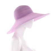 As New Vintage Purple Patricia Underwood Wide Brim Summer Hat