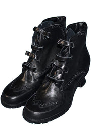 Peter Fox new in box Vintage black boots 7.5 M - Dressing Vintage