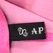 Aphero Hot Pink Lambskin Leather Jacket Made in France