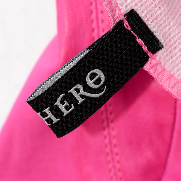 Made in France Aphero Hot Pink Lambskin Leather Jacket