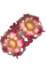 Vintage Celluloid Plastic Brooch Flowers