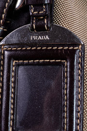 Vintage Prada Milano Dal 1913 Vintage Top Handle Handbag Hang Tag