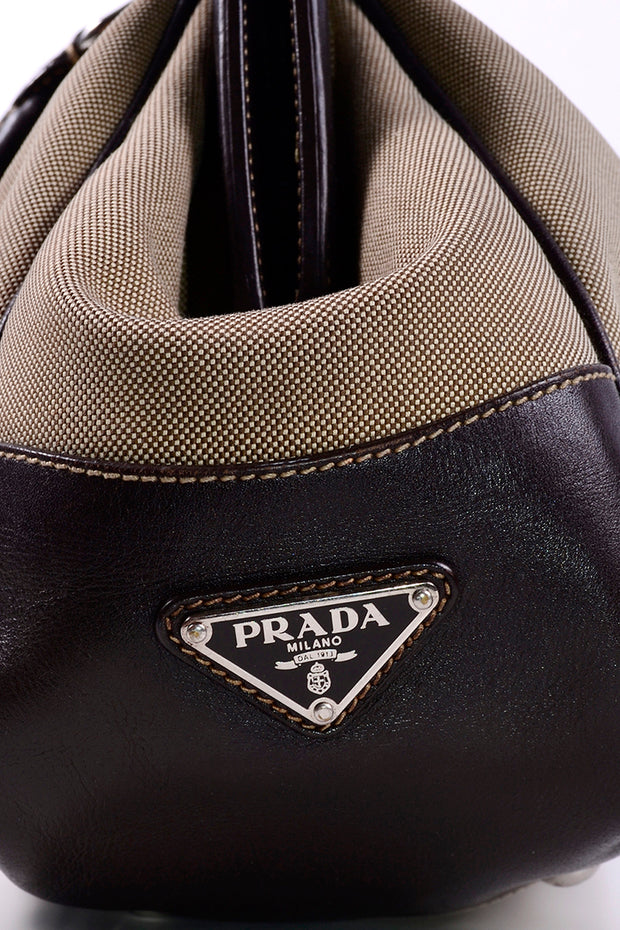 Vintage Prada Milano Dal 1913 Vintage Top Handle Handbag Authentic
