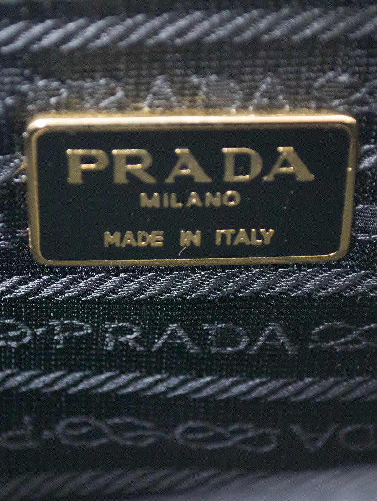 Authentic Vintage Prada Italy Designer Satchel Handbag SOLD - Dressing Vintage