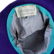 Yves Saint Laurent YSL 1960's Trilby Hat