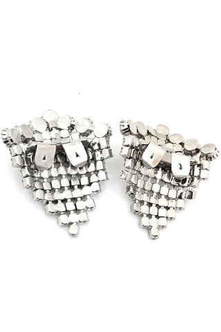 Unique Vintage Rhinestone Shoe buckles clips