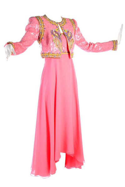 Richilene Pink Evening Gown