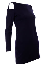Rudi Gernreich 1960s Blue Vintage Dress W/ cutout Shoulders