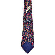 Vintage golf swing tie by Salvator Ferragamo