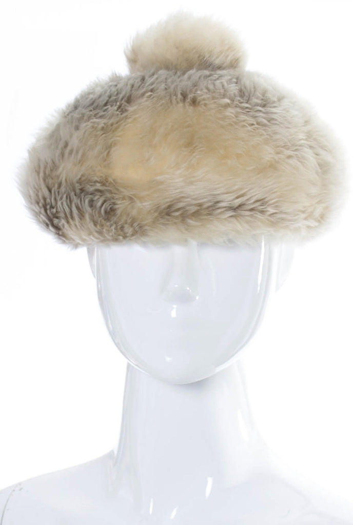 Vintage Schiaparelli Faux Fur hat SOLD