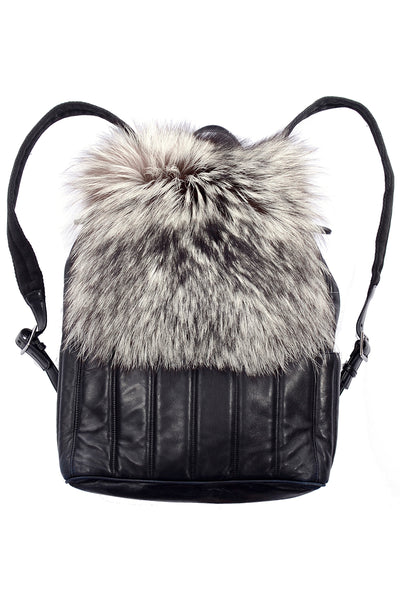 Tanner Krolle Fox Fur Backpack