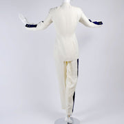 1980's Thierry Mugler summer pant suit