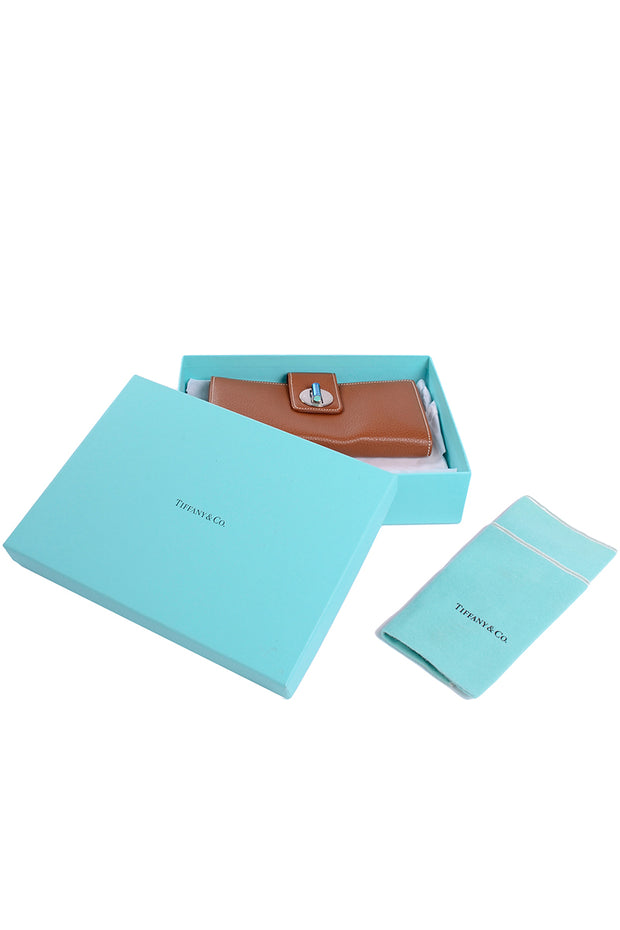 Tiffany and Co leather wallet in original box