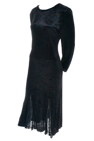 Vintage Top Notch Great Britain Kriss Velvet Dress