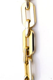 Beautiful Trifari Vintage Gold Link Chain Necklace