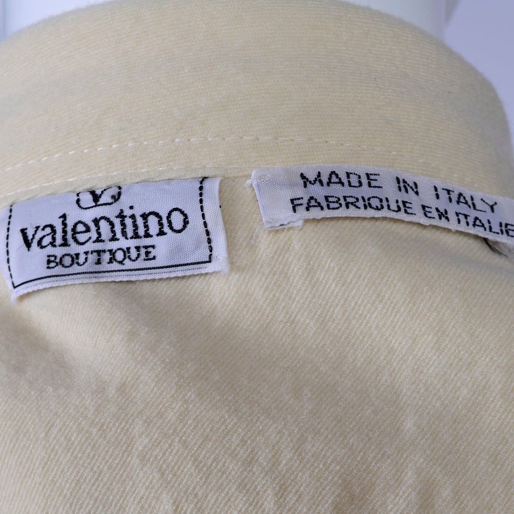 Valentino Boutique Vintage Trench Coat Italy