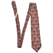 Vintage Valentino duck lake tie novelty