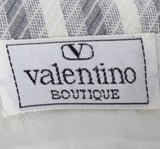 Beautiful Valentino Vintage Striped Dress and Jacket Outfit - Dressing Vintage