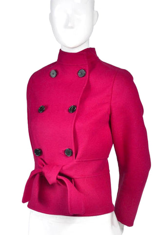 Raspberry Red Valentino L'Amour Jacket