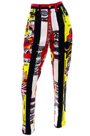 1990s Versace Rock Royalty London Jeans