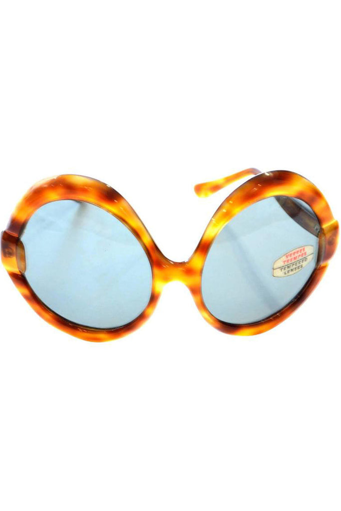 1960's oversized tortoise sunglasses