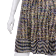 Chanel Spring Summer 2015 Multicolored Tweed Day Dress