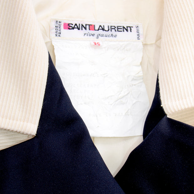 Yves Saint Laurent Vintage Blazer Jacket Paris
