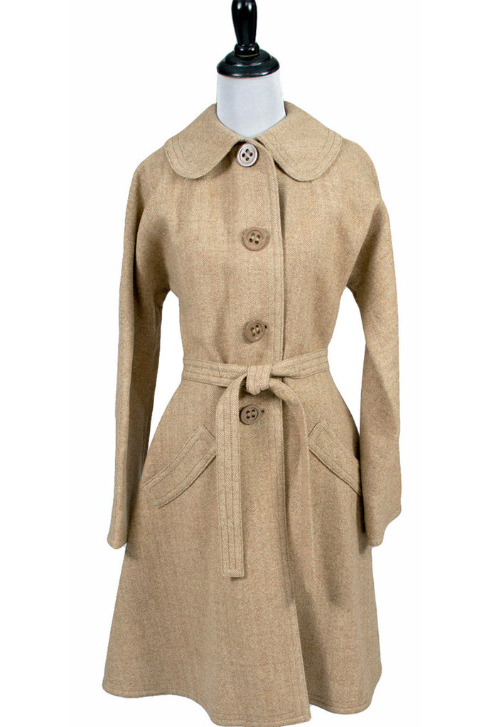 Marshall Field's 1960s Jeannette Paris vintage Coat made in France