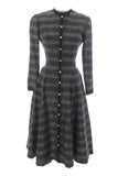 Vintage parklane gray plaid dress