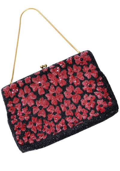 Vintage beaded Walborg evening bag SOLD - Dressing Vintage