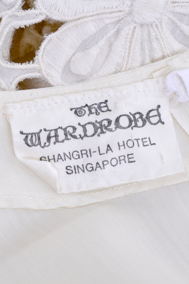 The Wardrobe Shangri la hotel Singapore Label