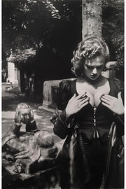 Tomb of Talma in Pere Lachaise, Paris, from 1977 YSL by Helmut Newton