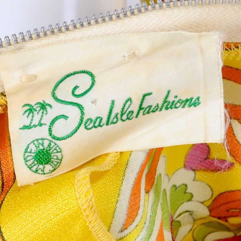 Sea Isle Fashions 1960's Jumpsuit Label