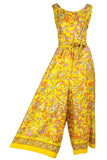 1960's Sleeveless Wide Leg Jumpsuit | Dressing Vintage