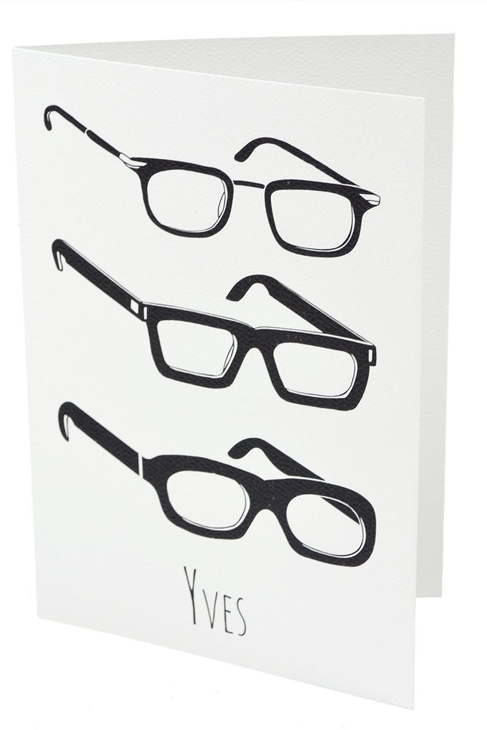 """Yves"" Greeting Cards with Original Art By Katie Acheson Wolford - Dressing Vintage"