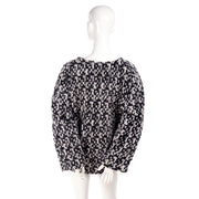 2011 Yves Saint Laurent black and white sweater