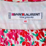 Saint Laurent Rive Gauche Made in Paris France 1970's Label