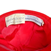Yves Saint Laurent Paris New York Vintage Hat 1970s